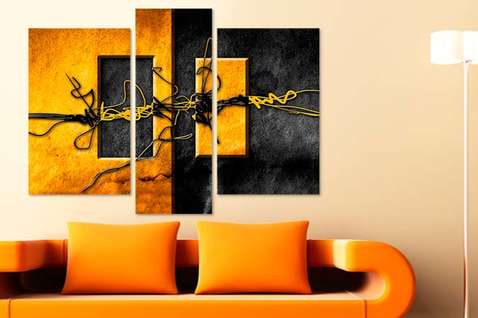 Tablouri decor abstract 9507