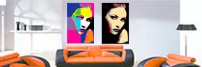 Tablouri canvas pop-art
